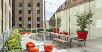 Ablett House - Campus Accommodation - Liverpool - Patio