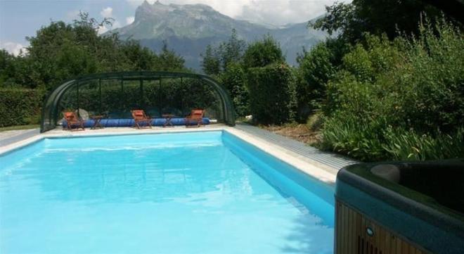 Chalet Liberty Mont-blanc - Saint-Gervais-les-Bains - Πισίνα