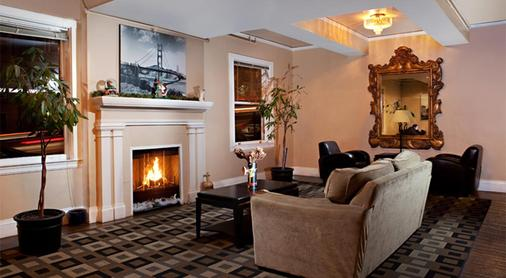 Cable Car Court Hotel - San Francisco - Living room