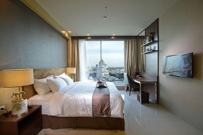 泗水阿里亞中心酒店 - 泗水 - 臥室