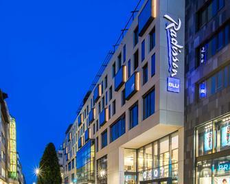 Radisson Blu Hotel, Mannheim - Mannheim - Gebäude