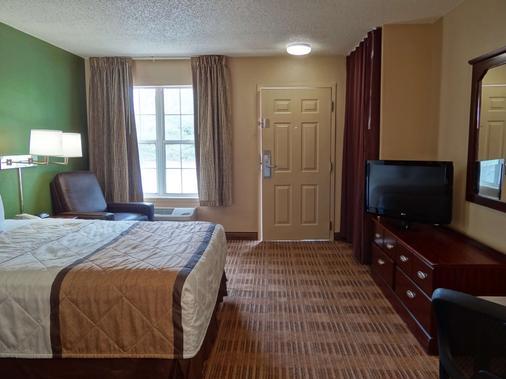 埃爾帕索機場美國長住酒店 - 埃爾帕索 - 埃爾帕索 - 臥室