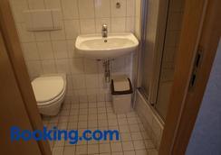 Pension Zur Alten Gärtnerei - Reichenbach/Vogtland - Bathroom