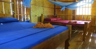 Easy Tiger Bungalows - Koh Rong Sanloem - Schlafzimmer