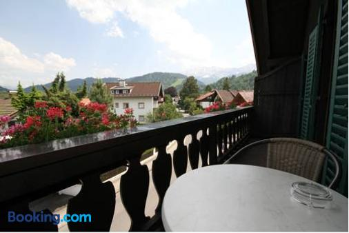 Bed and Breakfast Hotel Garni Trifthof - Garmisch-Partenkirchen - Balcony