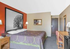 Super 8 by Wyndham Christiansburg/Blacksburg Area - Christiansburg - Schlafzimmer