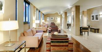 abba Euskalduna hotel - Bilbao - Living room