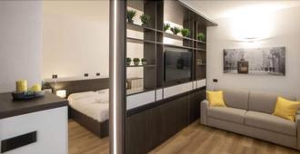 瑪多尼納公寓飯店 - 米蘭 - 客廳