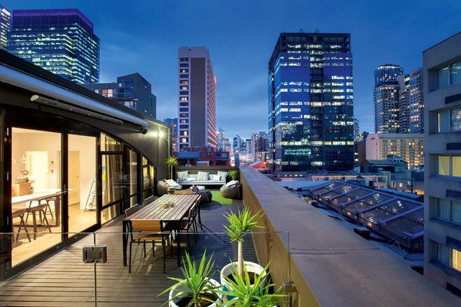 Ovolo Laneways - Melbourne - Parveke