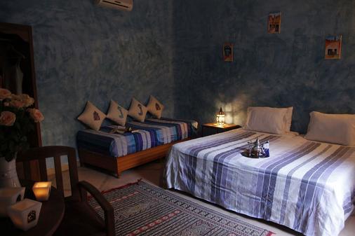 Riad Azenzer - Marrakesch - Schlafzimmer