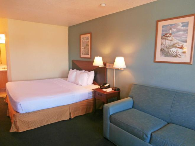 Americas Best Value Inn Florida Turnpike & I-95 - Fort Pierce - Bedroom