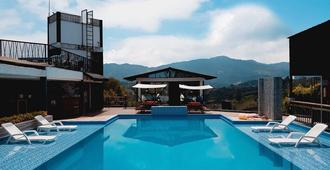 Happy Buddha Hostel Guatape - Guatapé - Pool
