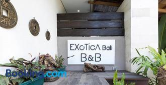 Exotica Bali Villa Bed and Breakfast - North Kuta - Building