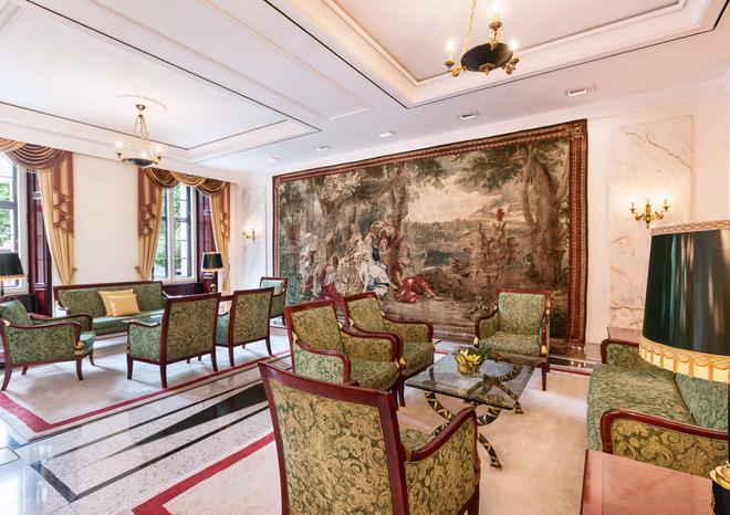 魯瑟斯赫爾貝斯特韋斯特豪華酒店 - 魏瑪 (圖林根) - 魏瑪 - 休閒室