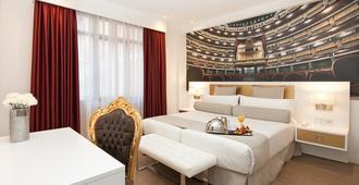 Hotel Mayorazgo - מדריד - חדר שינה