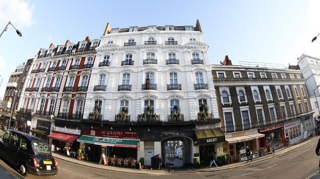 Ascot Hyde Park Hotel - Lontoo - Rakennus