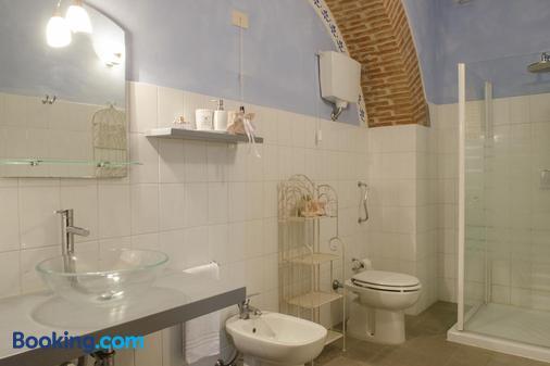 Fattoria Le Giare - Cortona - Phòng tắm