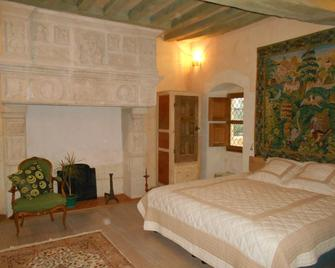 Le Manoir Chandio - Clefs-Val-d'Anjou - Bedroom