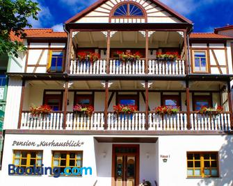 Pension Kurhausblick - Bad Suderode - Edifício