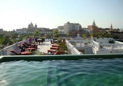 蒙特雷酒店 - 喀他基那 - 卡塔赫納 - 游泳池