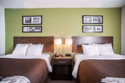 Sleep Inn Decatur I-72 - Decatur - Bedroom
