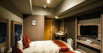 Hotel Relief Namba Daikokuchou - אוסקה - חדר שינה