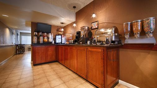 Best Western Town House Lodge - Modesto - Buffet