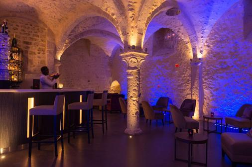 Hôtel Aux Vieux Remparts, The Originals Relais (Relais Du Silence) - Provins - Bar