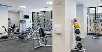 Oaks Melbourne on William Suites - Melbourne - Gym