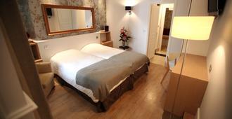 オテル バイヤール ベルクール - リヨン - 寝室