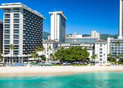 Moana Surfrider, A Westin Resort & Spa, Waikiki Beach - Honolulu - Budynek