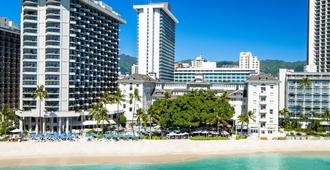 Moana Surfrider, A Westin Resort & Spa, Waikiki Beach - Honolulu - Edifício