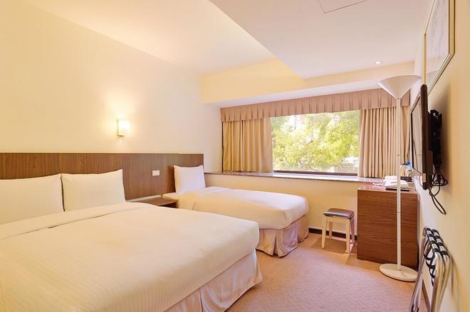 Green World Hotel Sansui - Taipei - Makuuhuone