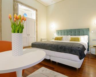 Hotel Pazo de Mendoza - Bayona - Slaapkamer