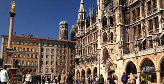 Low Budget Hostel - Múnich - Vista del exterior