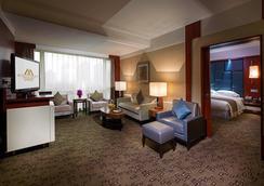 北京昆泰嘉華酒店 - 北京 - 客廳