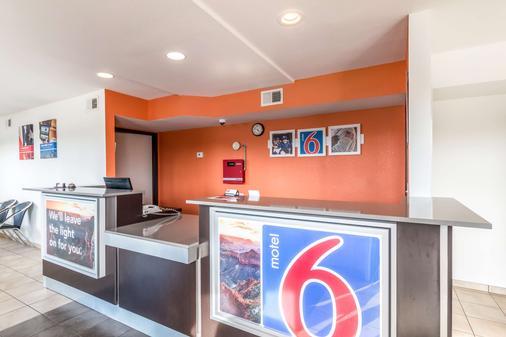 Motel 6 San Antonio - South WW White Road - San Antonio - Vastaanotto