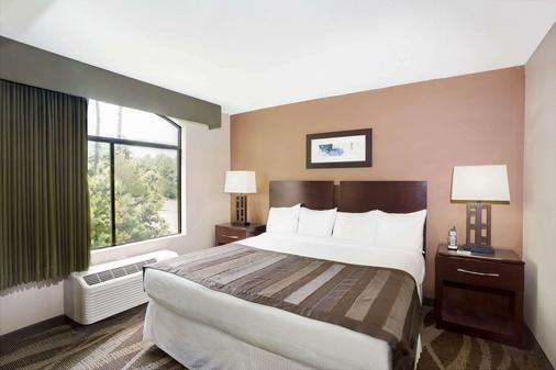 羅利特勒姆機場 RTP 溫蓋特溫德姆酒店 - 德罕 - 達拉姆 - 臥室