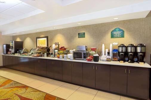 羅利特勒姆機場 RTP 溫蓋特溫德姆酒店 - 德罕 - 達拉姆 - 自助餐