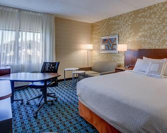 Fairfield Inn by Marriott Burlington Williston - Williston - Спальня