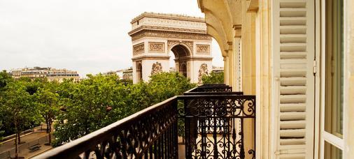 伊特萊爾輝煌酒店 - 巴黎 - 巴黎 - 陽台
