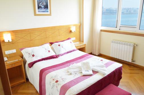 Hotel Cristal 2 - A Coruña - Makuuhuone