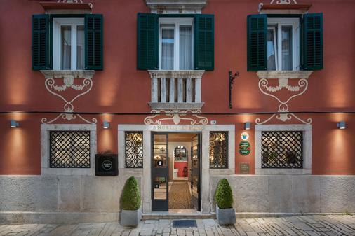 Hotel Angelo d'Oro - Rovinj - Toà nhà