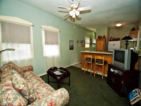 A Yellow Rose Bed & Breakfast - San Antonio - Living room