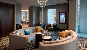 Residence Inn by Marriott Seattle Downtown/Convention Center - Seattle - Living room