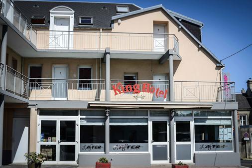 King Hôtel To Hotel Eisenhower - Port-en-Bessin-Huppain - Gebäude