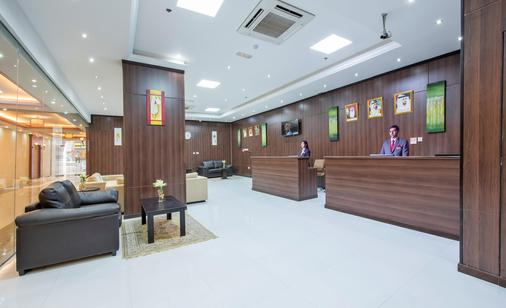 Al Farej Hotel - Dubai - Front desk