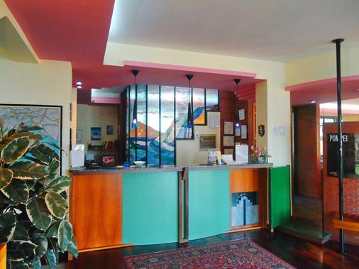 Hotel Giovanna - Pompeji - Rezeption