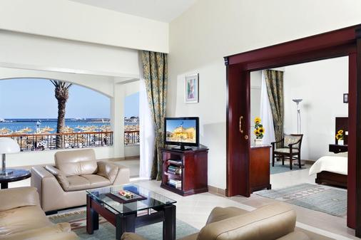 Dana Beach Resort (Families & Couples Only) - Hurghada - Living room