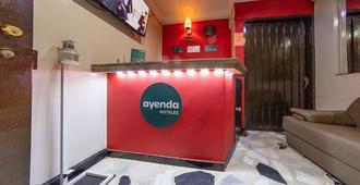 Hotel Ayenda Bioma 1097 - בוגוטה - דלפק קבלה